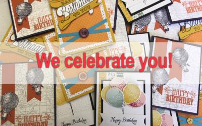 We Celebrate You!